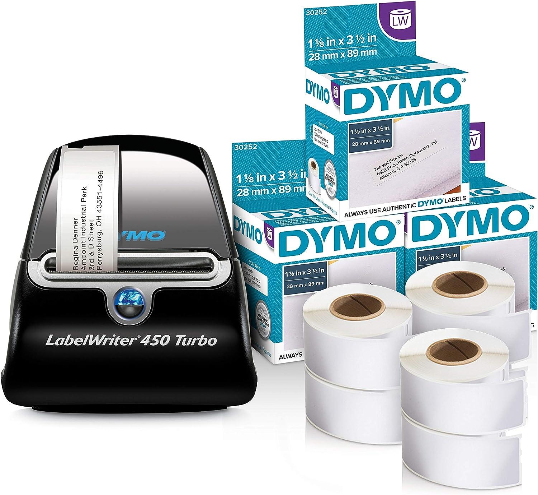 19mm x 51mm Squuido 10 rouleaux 11355 /Étiquettes compatibles avec Dymo LabelWriter 4XL 450 400 330 320 310 Duo//Turbo//Twin Turbo Seiko SLP 450 430 420 410 400 200 100 500 /étiquettes par Rouleau