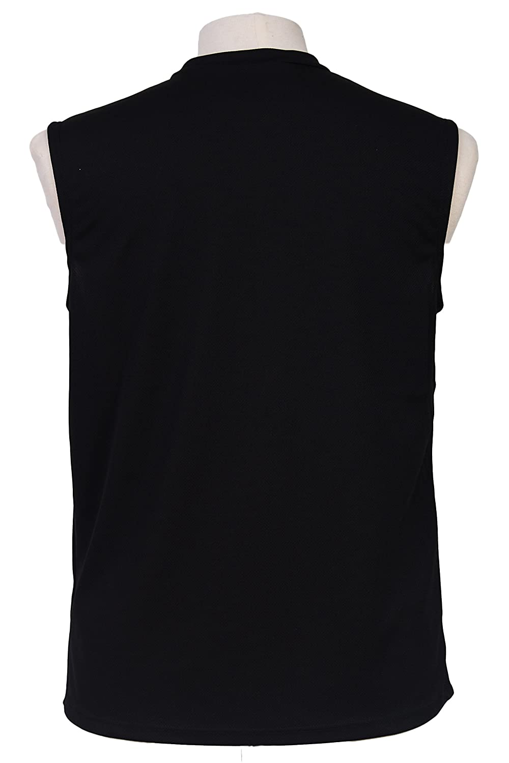 9fe0af99f Amazon.com: Men's Mesh Dri Fit Light Weight Sleeveless Shirt Workout Gym  Made in The USA: Clothing