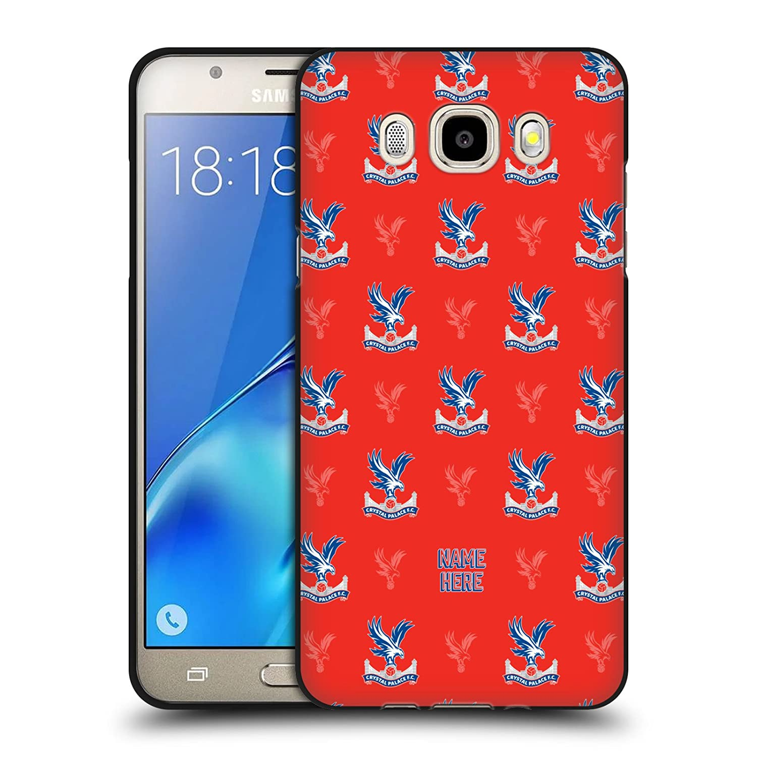 Amazon.com: Custom Customized Personalized Crystal Palace FC Black Eagle 2017/18 Black Soft Gel Case for Samsung Galaxy J5 (2016): Cell Phones & Accessories