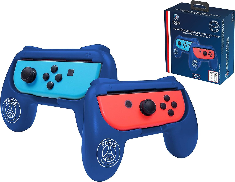 PSG Paris Saint Germain grips (empuñaduras) para mando JoyCons Nintendo Switch: Amazon.es: Videojuegos