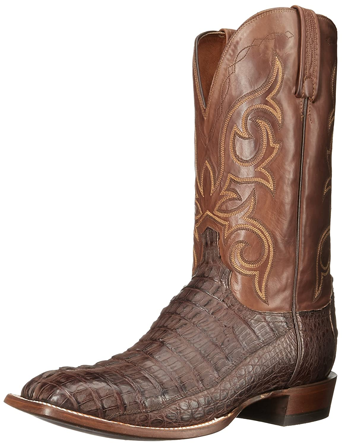 Barrel Brown Tan Lucchese Bootmaker Men's Haan Western