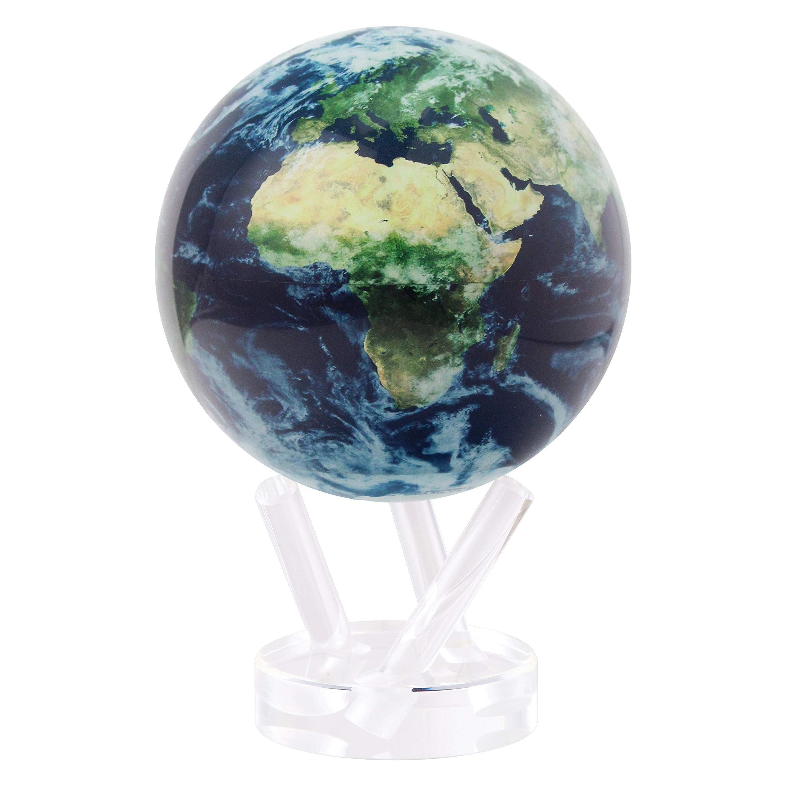 Mova Earth with Clouds Globe 6'' by Mova