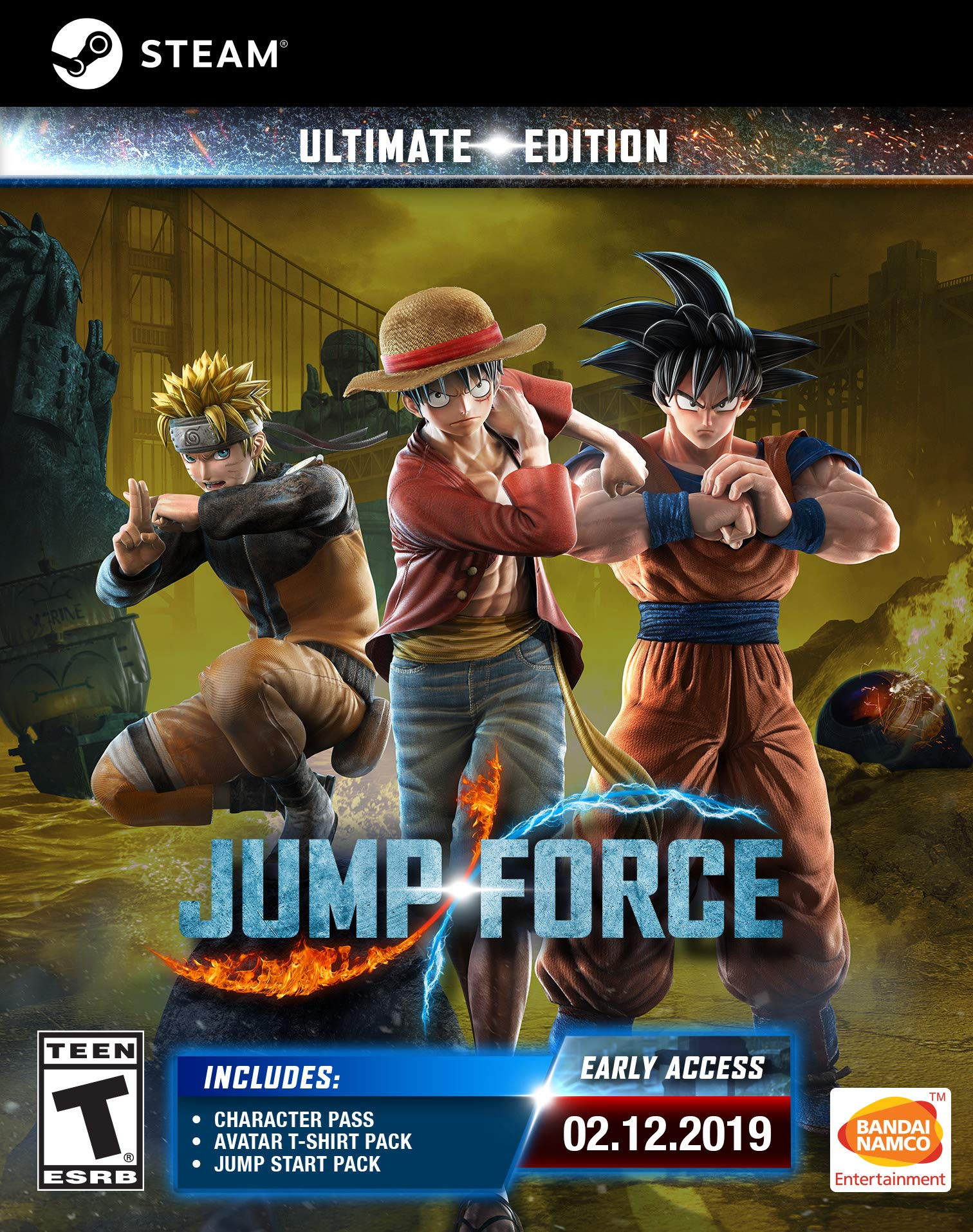 JUMP FORCE Ultimate Edition [Online Game Code]