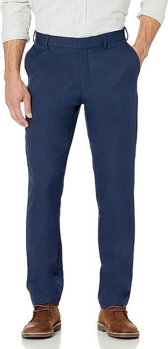 Amazon Com Van Heusen Pantalones De Viaje Para Hombre Ajustados Y Elasticos Clothing
