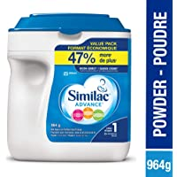 Similac Advance Step 1 Non-GMO Baby Formula Powder, 964g, 0+ Months, Blue