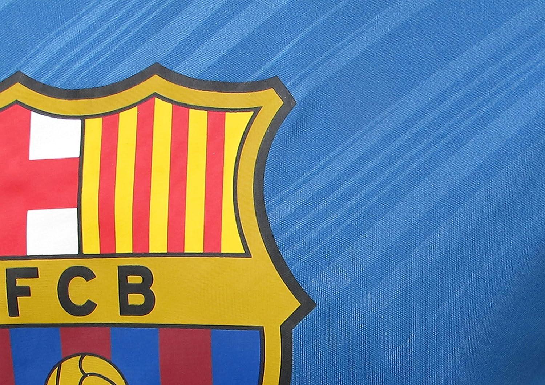 FC BARCELONA Official Merchandise by HKY Sportswear Men/'s Short Sleeve Jersey T-Shirt Navy//Royal, X-Large