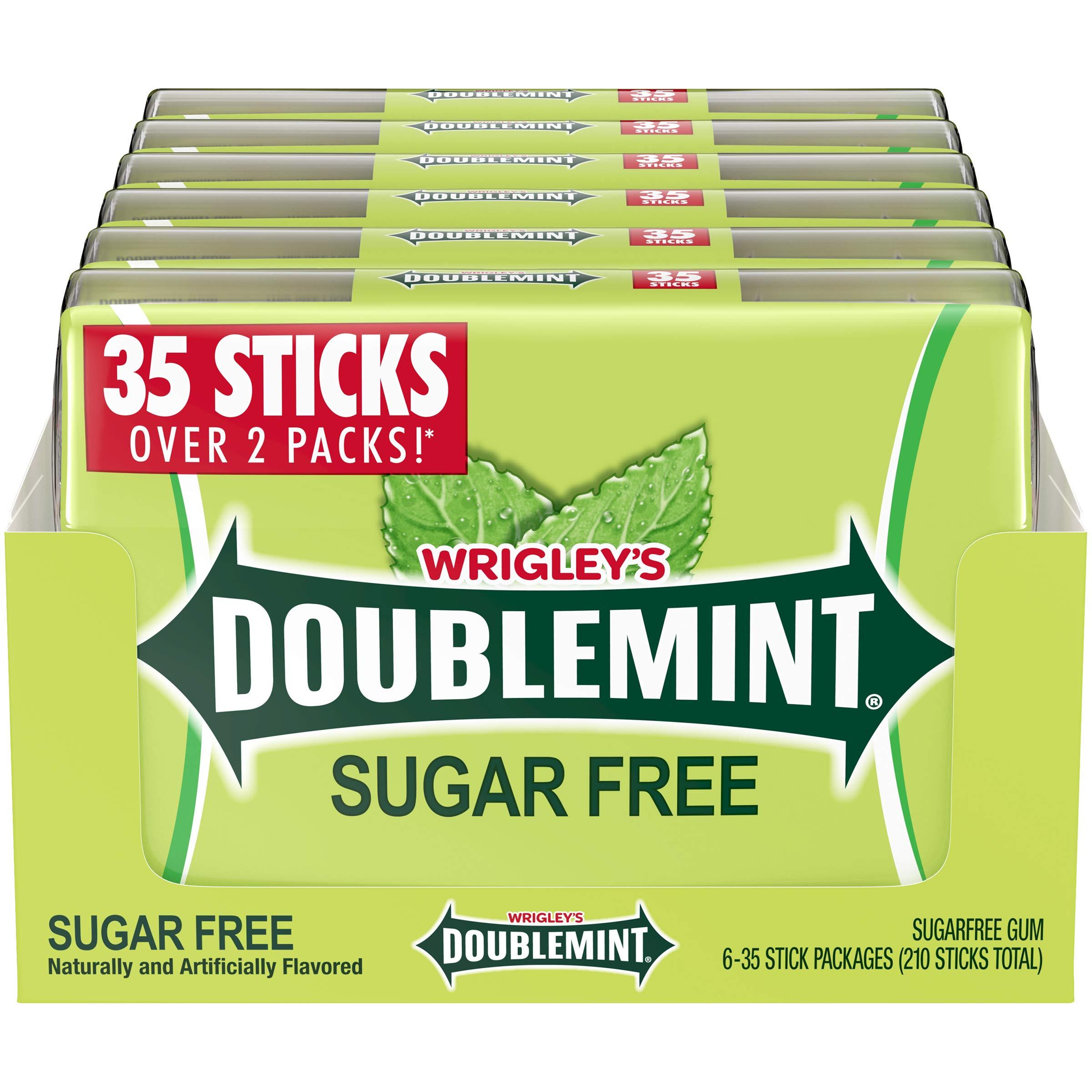 DOUBLEMINT Gum 35 stick SugarFree MegaPack 4.7 oz. (Pack of 6), 87 ounces by Doublemint Gum