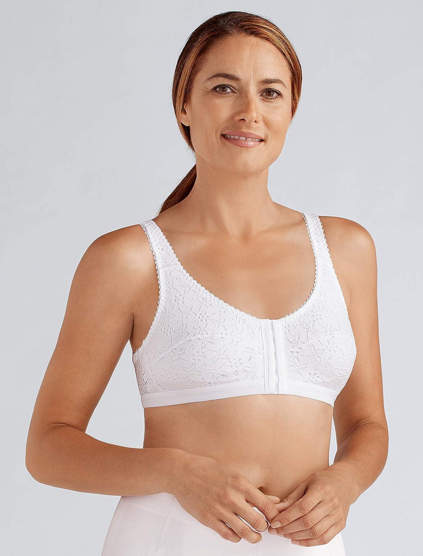 Sandra Post cirugía Bolsillos Soft Cup Bra Blanco Blanco XXXL: Amazon.es: Ropa y accesorios
