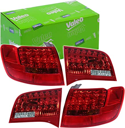 4x Original Valeo Heckleuchte 043332 043331 043330 043329 Rechts Links Außen Innen RÜckleuchte RÜcklicht Auto