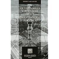 Metodologia Y Tecnicas De La Investigacion Juridica (portada puede variar);Biblioteca Jurídica Porrúa