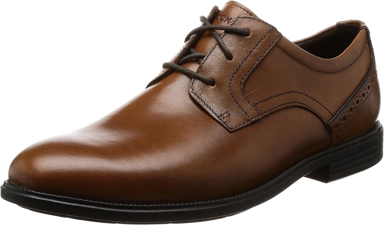 Rockport Madson Plain Toe, Zapatos de Cordones Derby para Hombre