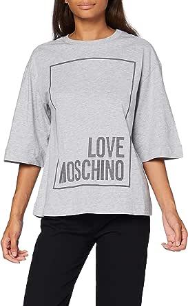 Love Moschino T-Shirt Camiseta para Mujer