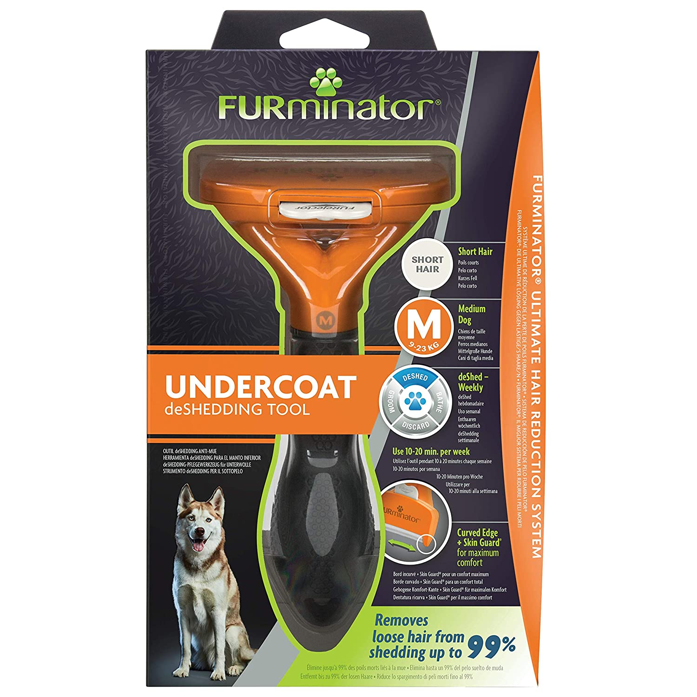 FURminator 141372 Deshedding M - Pelo Corto para Perro, Talla M: Amazon.es: Productos para mascotas