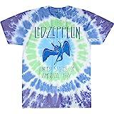 Liquid Blue Led Zeppelin Ramble on Swan Song Ss Tee