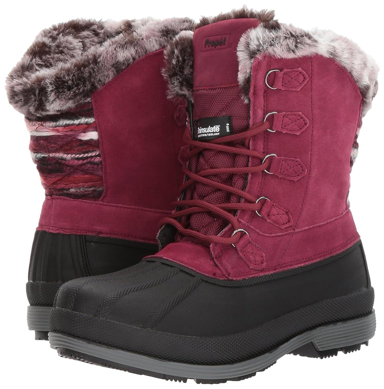 Propet Women's Lumi Tall Lace Snow Boot B01N48GAHE 10 W US|Berry