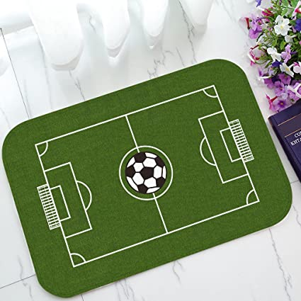 How Long Is A Football Pitch >> Amazon Com Custom Soccer Field Football Pitch Non Slip