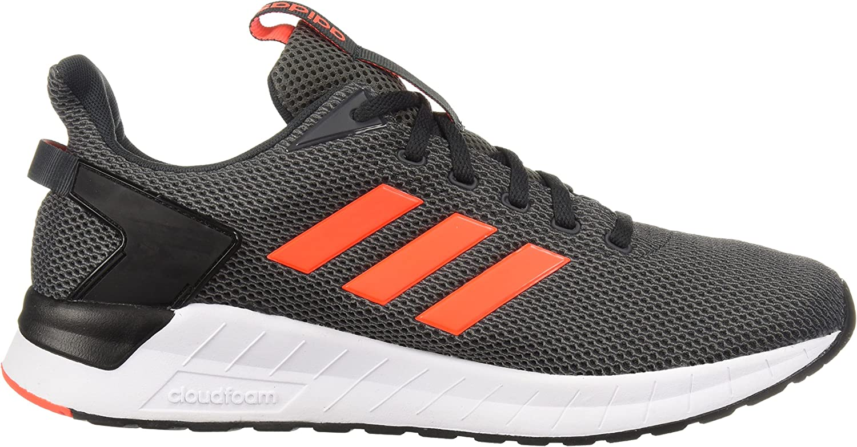 adidas Questar Ride Shoes Men's Carbon/Solar Red/Grey Four
