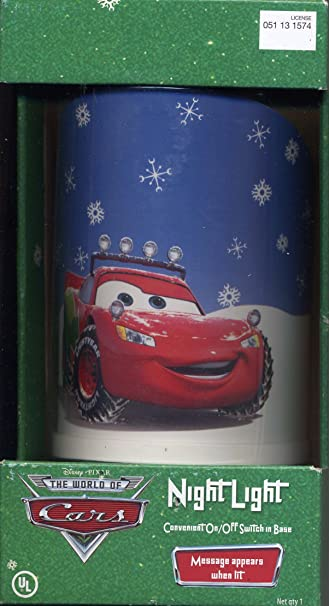 Amazon.com: Disney Pixar Cars Lightning McQueen temático de ...