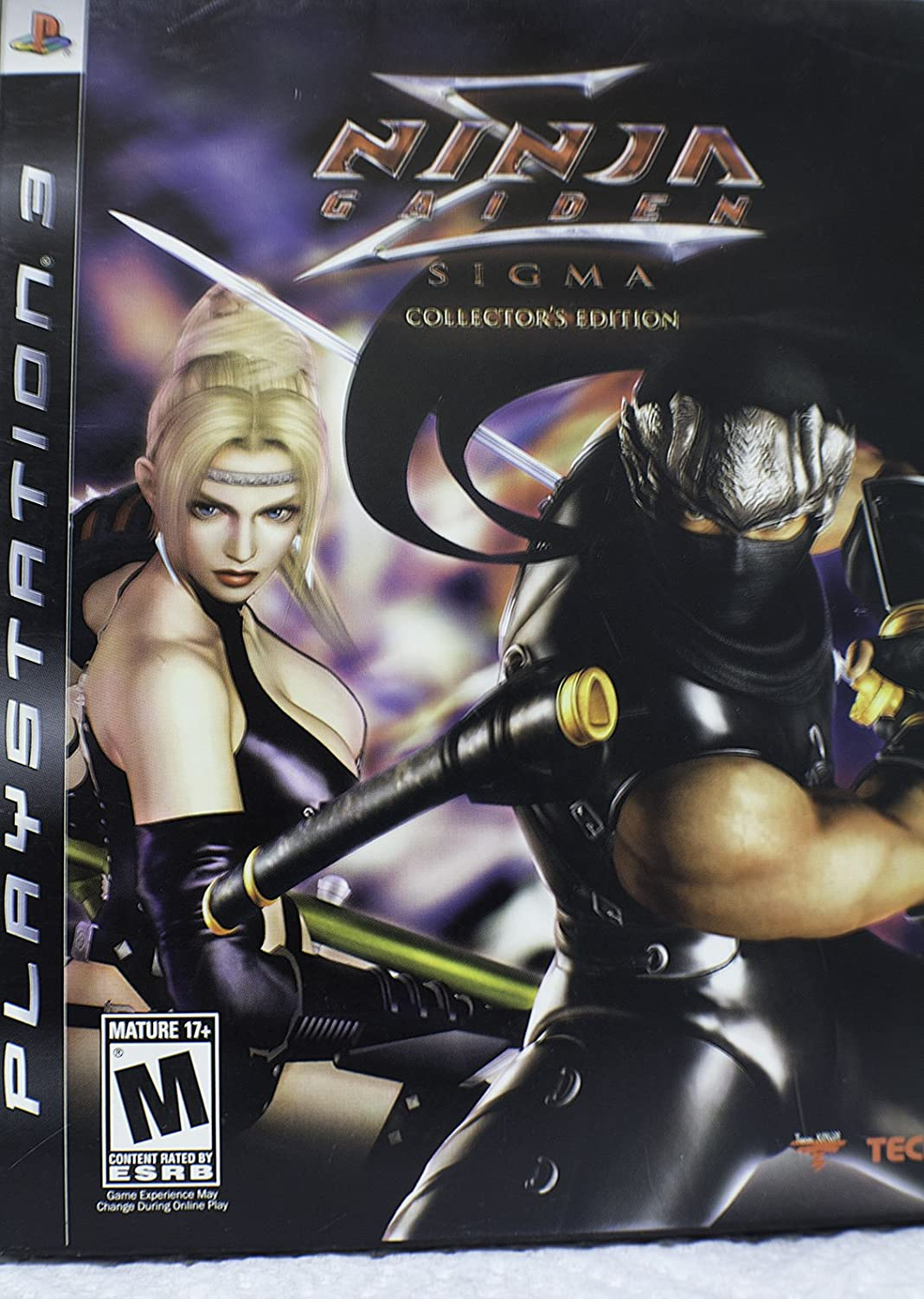 Amazon.com: Ninja Gaiden Sigma Collectors Edition: Video Games