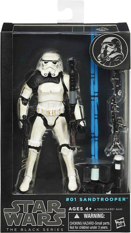"6.3/""Star Wars THE BLACK SERIES#03 Sandtrooper Action Figure Statue Model No Box"