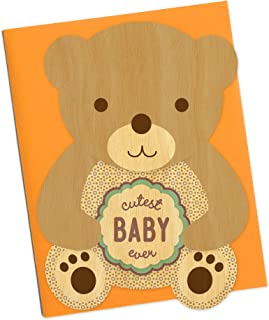 product image for Brown Bear Wood Congratulations Card by Night Owl Paper Goods