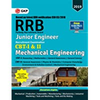 RRB (Railway Recruitment Board) 2019 - Junior Engineer CBT -I & II - Mechanical & Allied Engineering