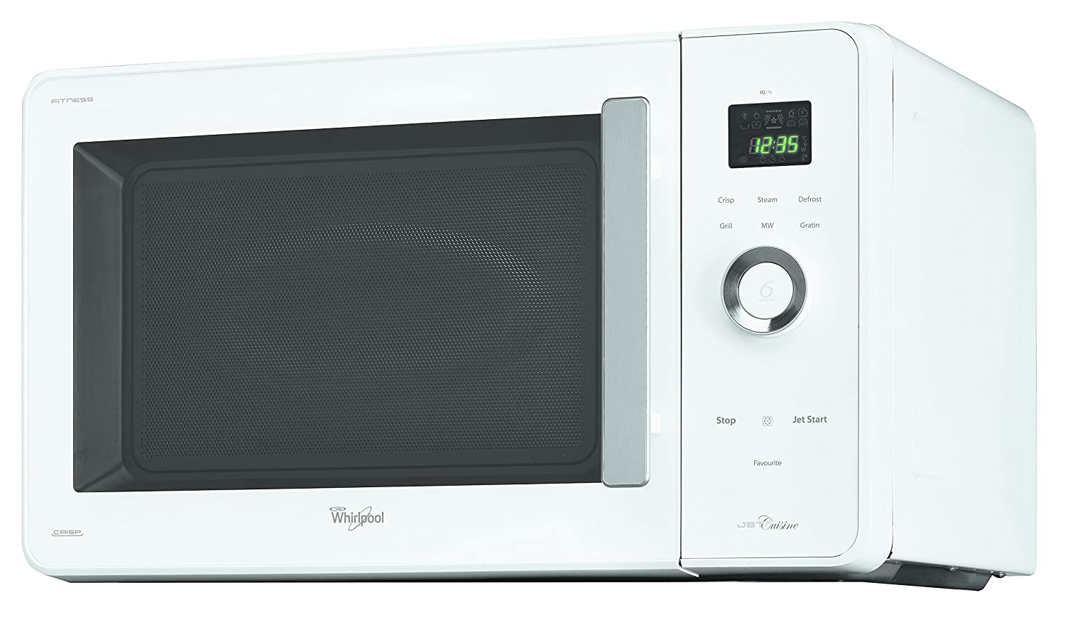 Whirlpool JQ 276 WH - Microondas, 950 W, 30 l, color blanco