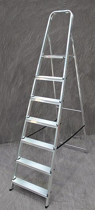 Titan - Escalera (7 peldaños, aluminio): Amazon.es: Bricolaje y herramientas
