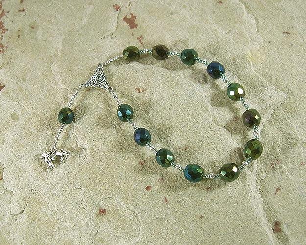 Amazon Com Rhea Pocket Prayer Beads Titan Goddess Of The