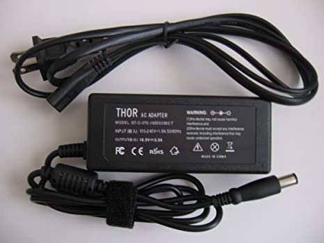 Thor Brand Replacement Ac Power Adapter Cord for Hp Pavilion Laptop Pc: G6 -1c58dx