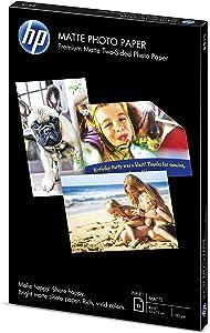HP Matte Photo Paper | 4x6 | 25 sheets