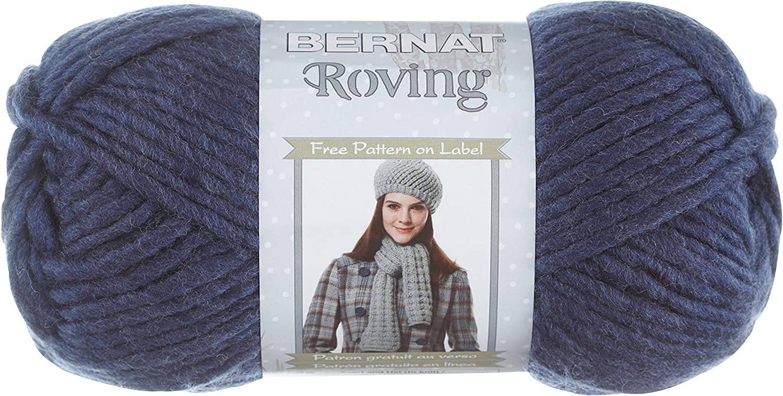 Small Ball Bark Bernat 16110000011 Roving Yarn Knit