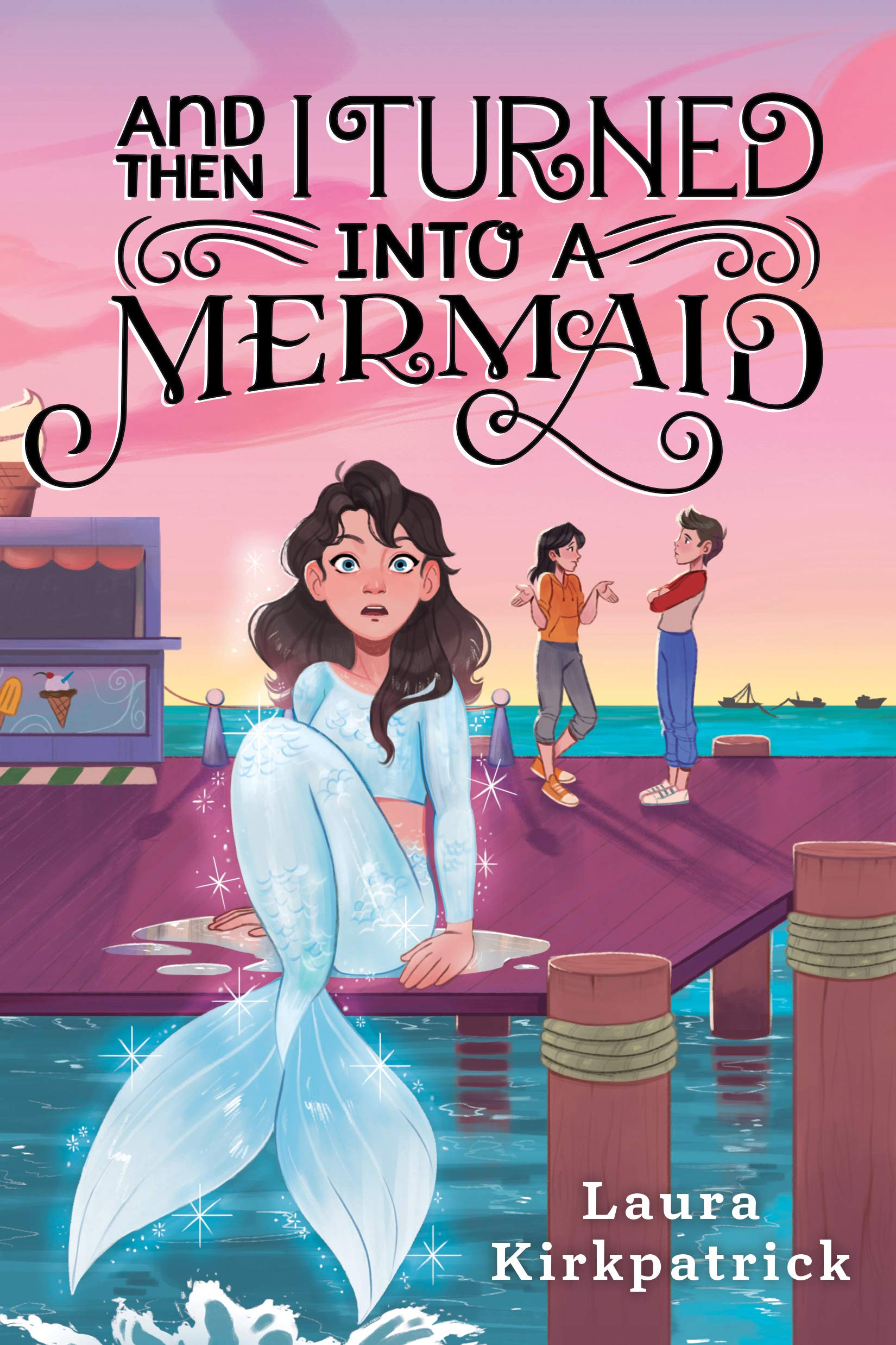 Mermaid transformation fiction