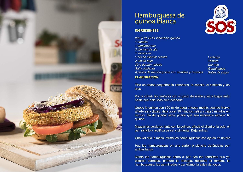 Sos Vidasania Quinoa, 250g: Amazon.es: Alimentación y bebidas
