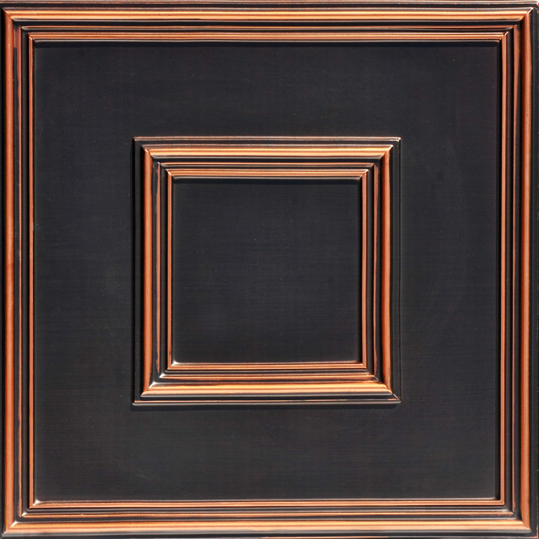 From Plain To Beautiful In Hours 208ac-24x24 Ceiling Tile, Antique Copper