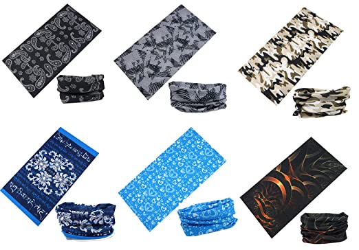 83 opinioni per Multiuso Fascia Bandana Scaldacollo Foulard- Datechip 12 in 1 Sports Buff