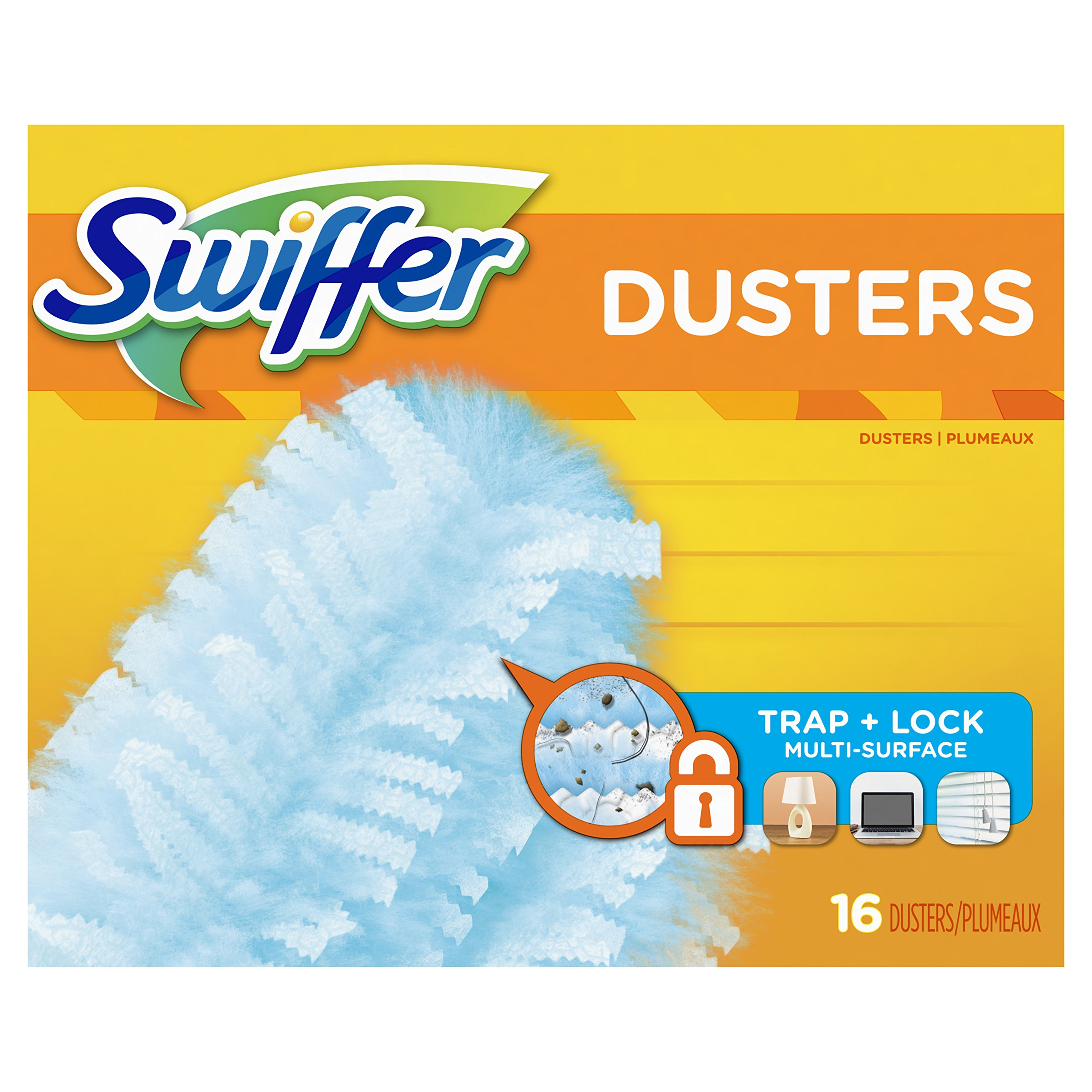 Swiffer Duster Refills, Unscented Dusters Refill, 16 Count, Swifter by Swiffer