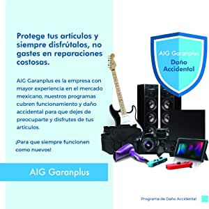 AIG Garanplus - 2 Años Electrónica portátil - Seguro de Daños accidentales $2000 - $2499.99