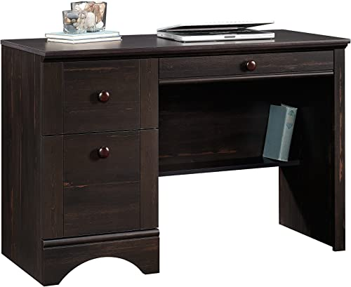 Sauder Harbor View Computer Desk, Antiqued Paint finish