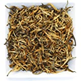 Tealyra - Imperial Golden Monkey - Yunnan Black Loose Leaf Tea - Best Chinese Tea - Organically Grown - Bold Caffeine - 110g (4-ounce)