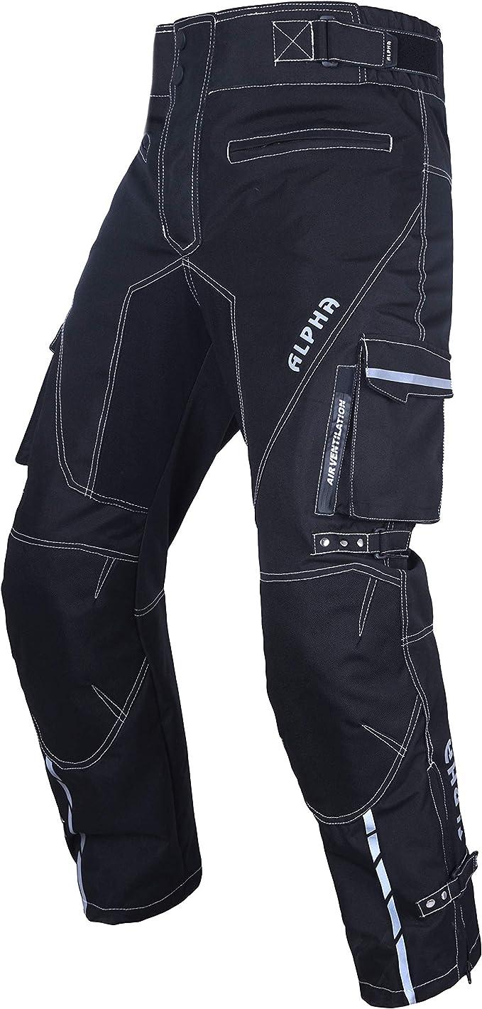HWK Mesh Motorcycle Air Pants Riding CE ARMORED Motorbike Overpants!!! Waist38-40 Inseam32