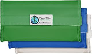 product image for Planet Wise Tint Snack Bag - 3-Pack - Hook and Loop (Blue/Green)