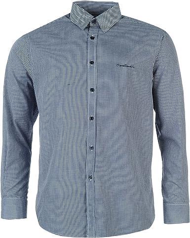 Pierre Cardin - Camisa Casual - para Hombre Azul Marino X ...