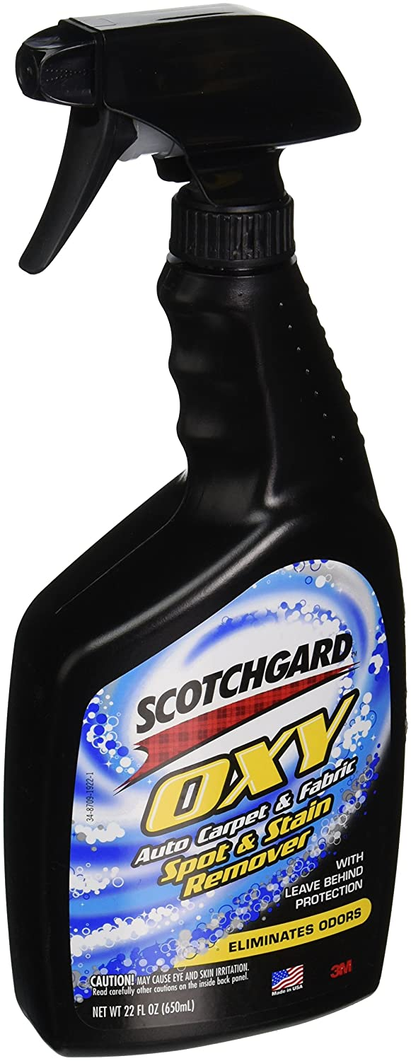 Scotchgard Auto Carpet and Fabric Spot and Stain Remover, 22-Ounce