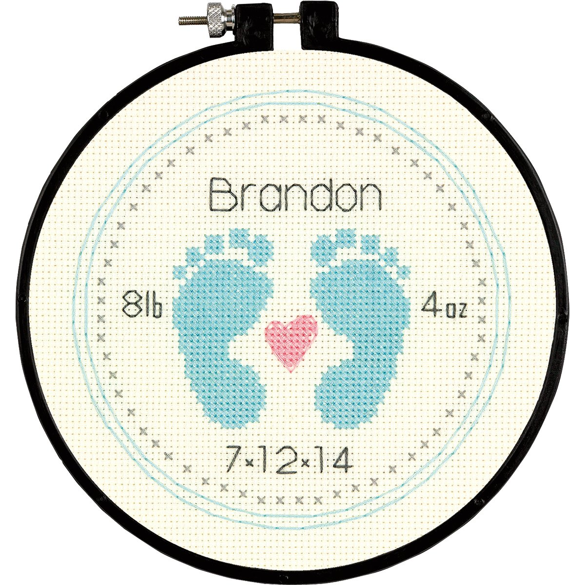 Dimensions Baby Footprints 6-Inch