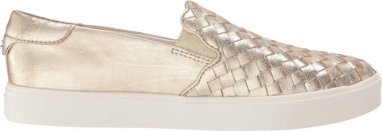 Sam Edelman Femmes Molten Gold Metallic Leather