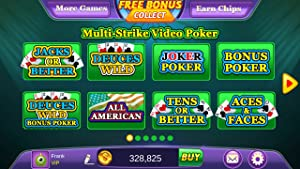 Poker:Free Multi Play Video Poker Games For Kindle Fire by The SagaFun Team