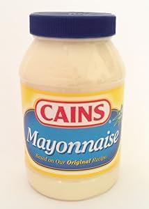 Cains Mayonnaise All Natural, 30 Fluid Ounce