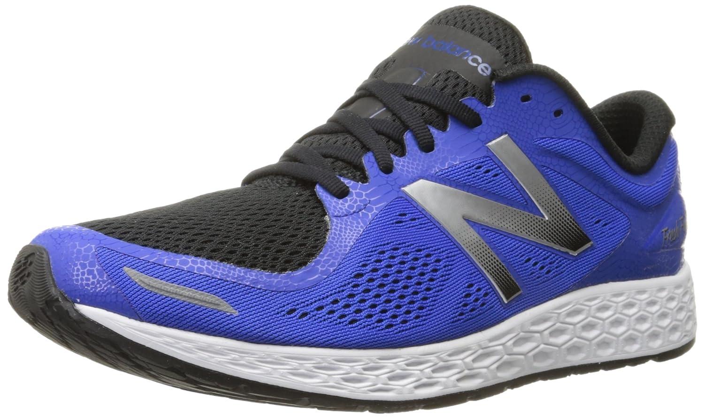 New Balance Men's Fresh Foam Zantev2 Game Running Shoe 42 EU|Blue / Silver