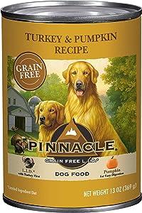 Pinnacle Pet Grain Free Turkey & Pumpkin Wet Canned Dog Food 13 oz